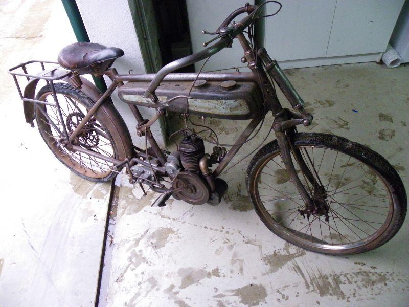 auto moto v lo moto alcyon 175 2t de 1924. Black Bedroom Furniture Sets. Home Design Ideas